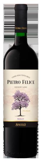 4587ebece Vinho Tinto Seco Merlot Pietro Felice Veneza 750ml By Sinuelo