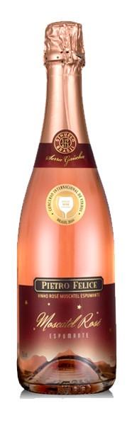 306e0bb63 Espumante Moscatel Rosé Pietro Felice 750ml By Sinuelo